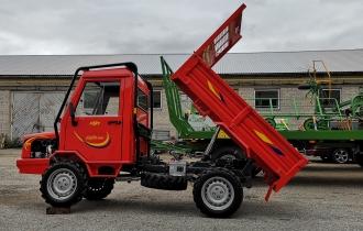 Kallutava kastiga traktorid