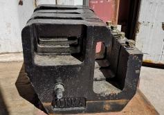 Väiketraktori raskused 4x12 kg