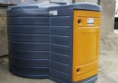 Kütusetankla Swimer 5000 l eesmise kapiga (Itaalia pump)