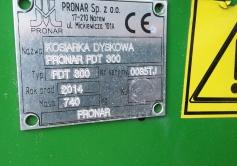 Kasutatud Keskkinnitusega rootorniiduk Pronar PDT300